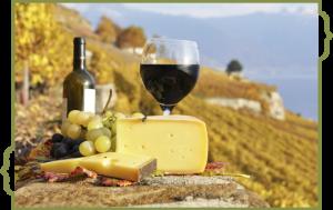 vin bourgogne, fromage, l'art d'une pause vacances